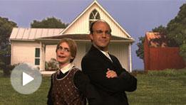 SNL's American Gothic