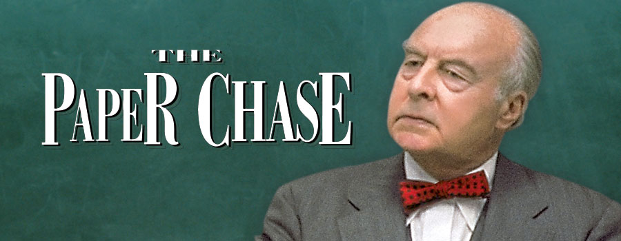 Image result for the paper chase