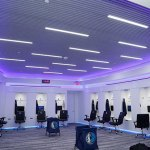 Tennessee vs Alabama Dallas Mavericks Locker Room - Hunter Douglas Architectural