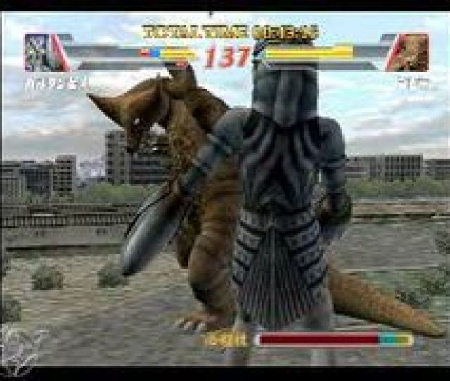 Ultraman Fighting Evolution  Gameplay
