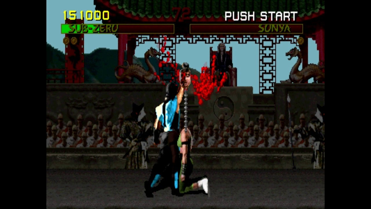 Mortal Kombat Finish Him Or Her IGN Video