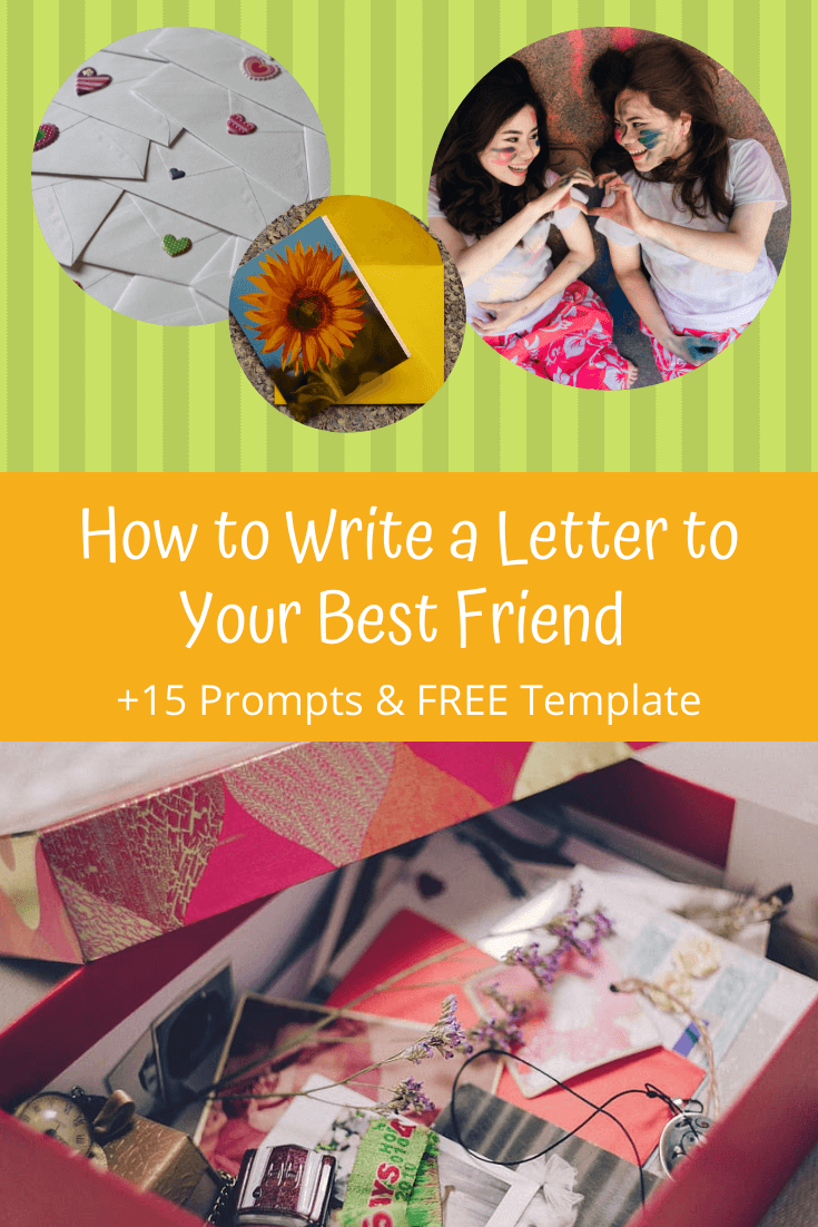 to write a letter to your best friend