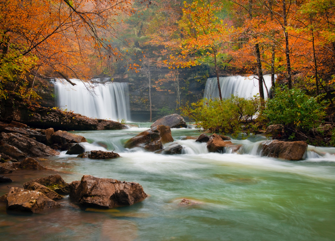 Image result for twin falls arkansas fall