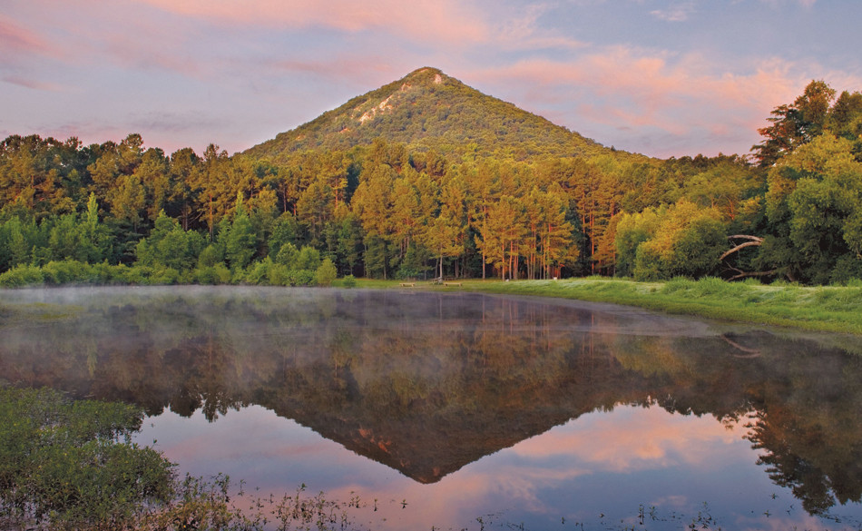 Image result for pinnacle mountain fall