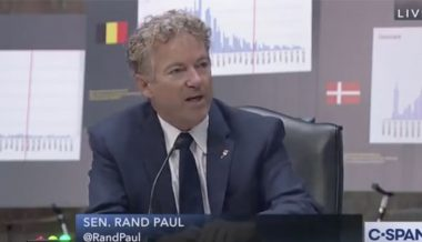 Video: Rand Paul Slams Fauci For Failed 'Central Planning' Approach To Pandemic Response