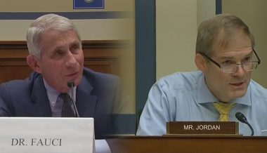Jim Jordan Presses Dr. Fauci On COVID-19 Protest Hypocrisy