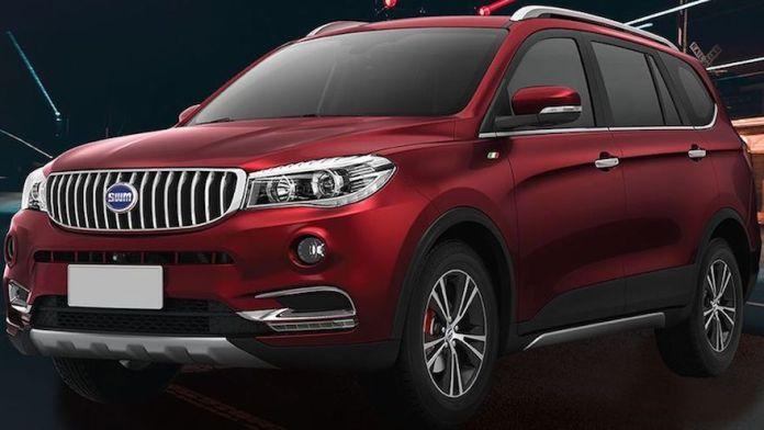 Shineray X7, uno de los SUV chinos que se vende en el país.