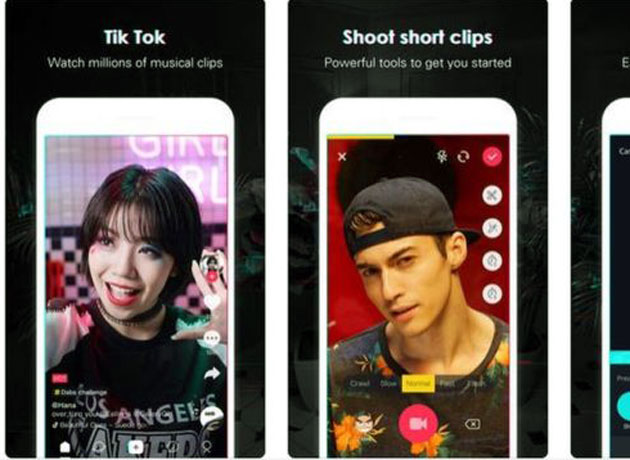 Quibi competes in the vertical format with Instagram and TikTok.