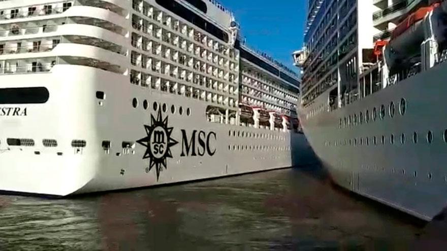 MSC suspendió la temporada de verano en el país
