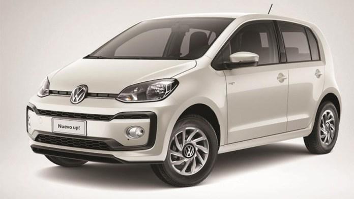 Volkswagen Up, otro city car en el podio de los más baratos.