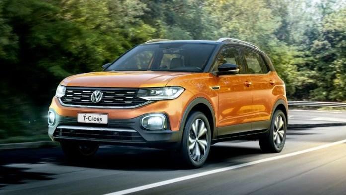 Volkswagen T-Cross completa el podio de los tres SUV más vendidos.