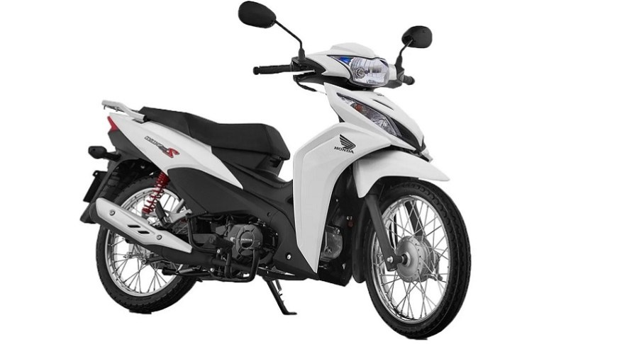 Honda Wave, the most sold.