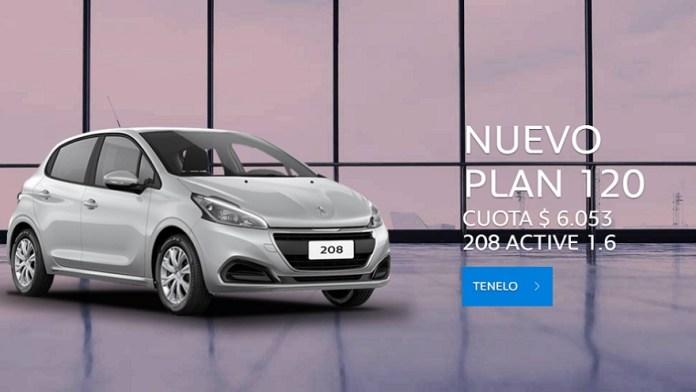 Peugeot, a 120-month option.