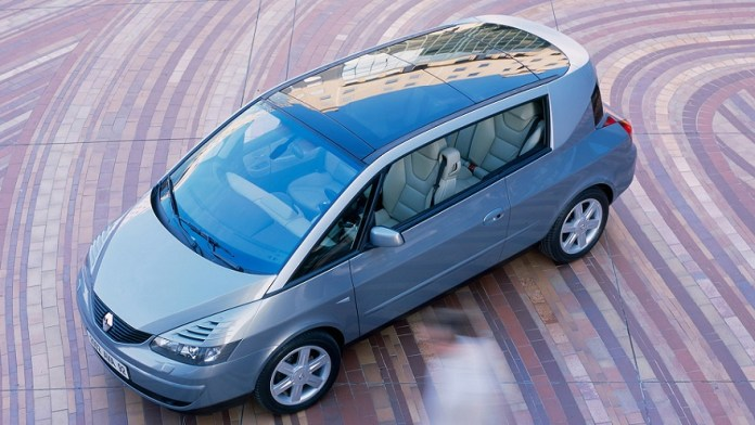 Renault Avantime, one of the last failures.