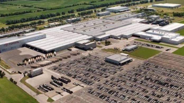 Así es la fábrica de Toyota en Zárate.