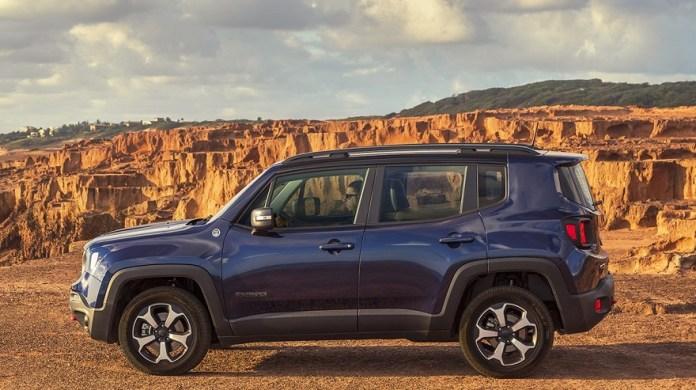 Jeep Renegade, uno de los SUV más vendidos.