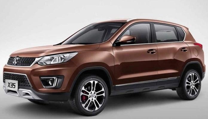 Baic X35, un SUV chino de los líderes en el país.