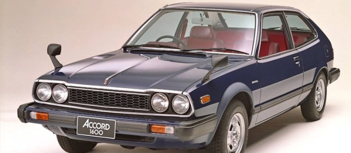 Honda Accord primera generación.