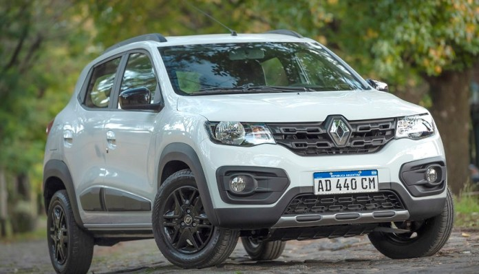 Renault Kwid, otro de los más económicos.