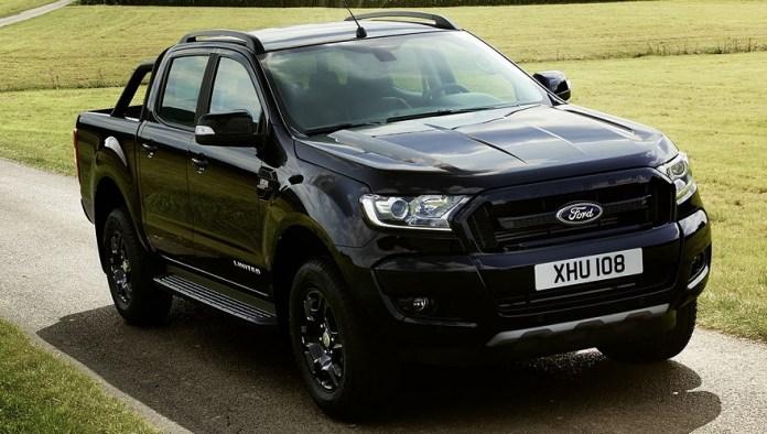 La Ford Ranger tendrá una edición especial Black.