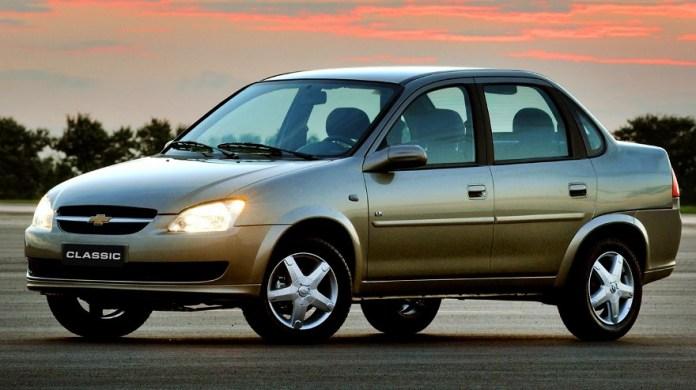 Chevrolet Classic, uno de los más vendidos de la marca.