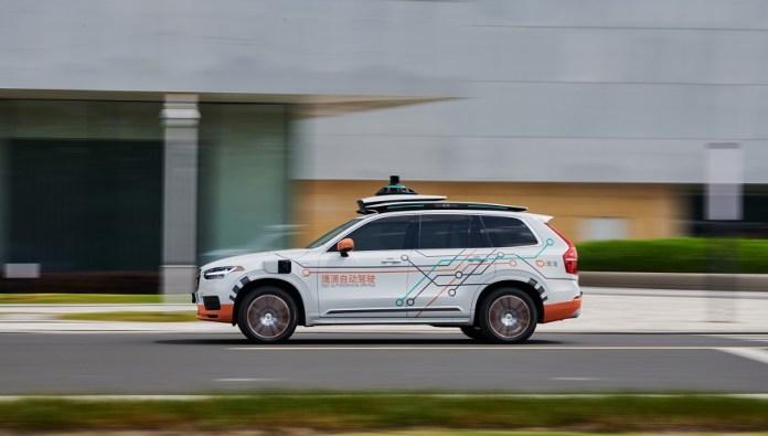 Volvo prueba nuevos sistemas de conducción autónoma con DiDi.