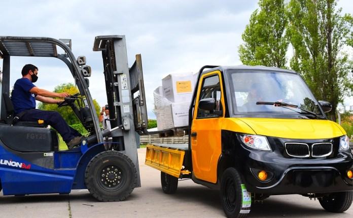 Tita, la primera camioneta eléctrica argentina.