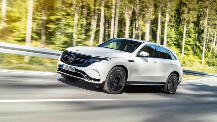 EQC, la gama eléctrica de Mercedes Benz.