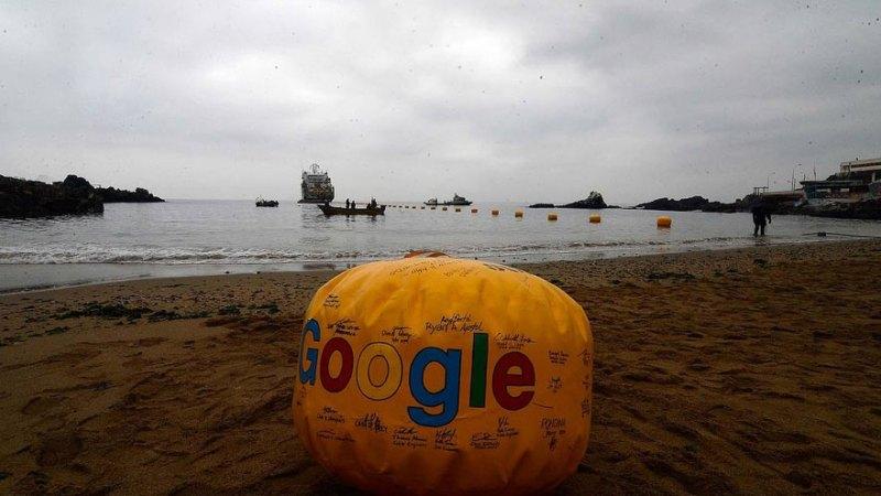 INFRAESTRUCTURA. Google instaló un cable que une Valparaíso (Chile) con California (EEUU)