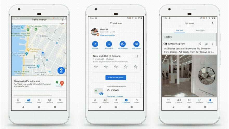 Google Maps se renueva