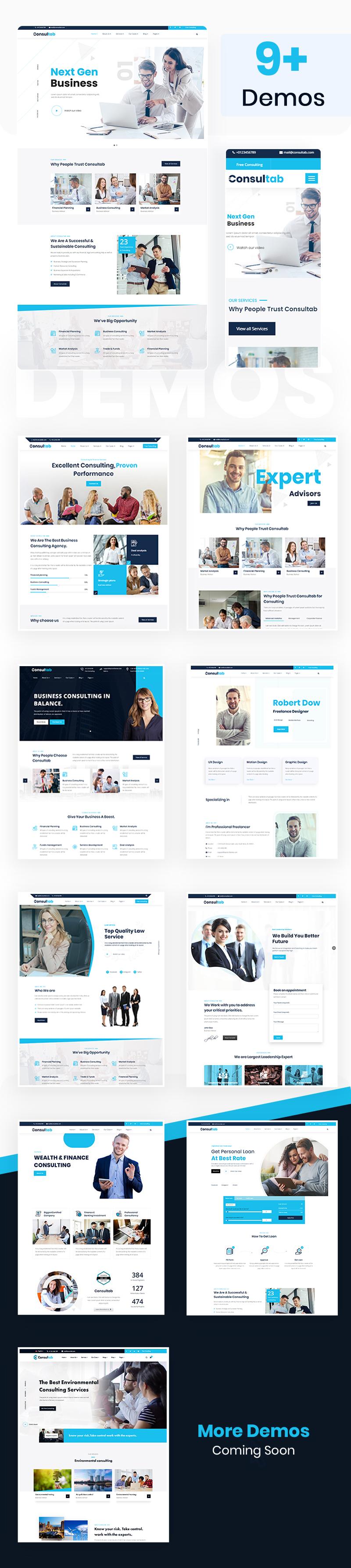 Consultab - Consulting Business & Finance WordPress Theme - 6
