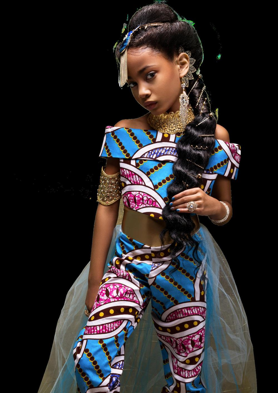 LaChanda Gatson's  vision of African American Princess Turquoise