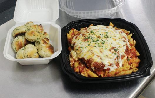 Randazzo's Garlic Knots and Baked Penne