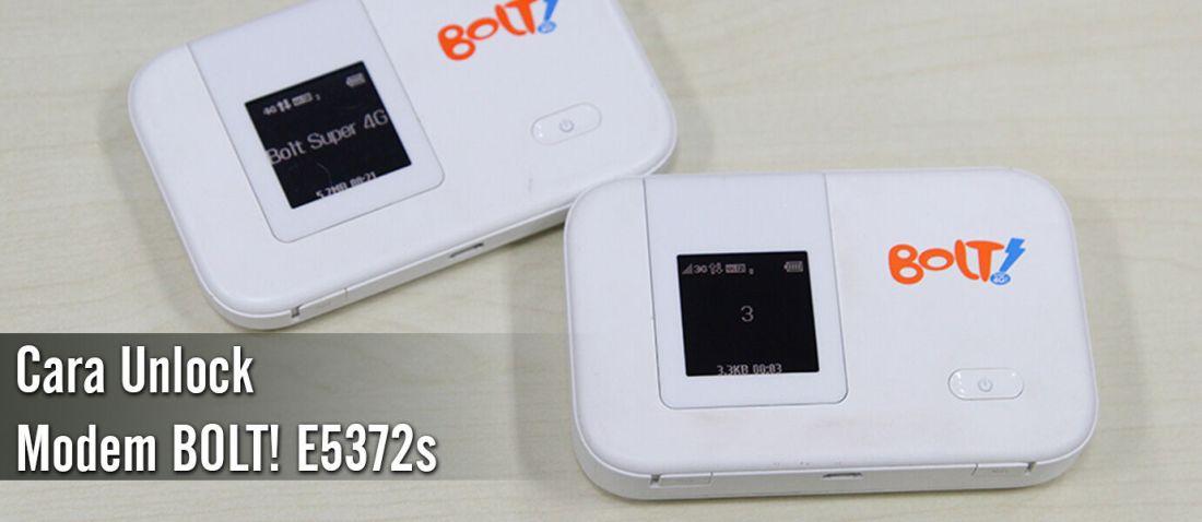 Cara Unlock Modem Bolt Huawei E5372S