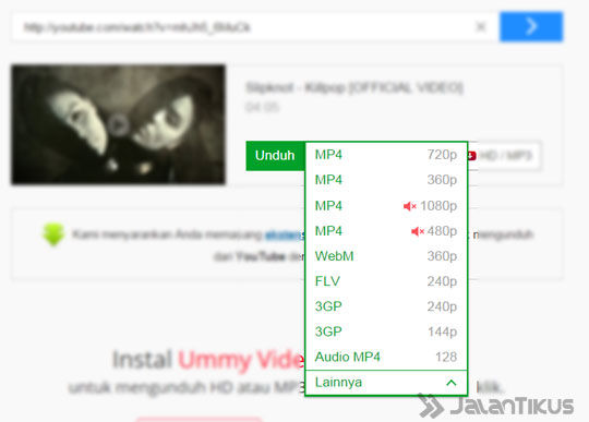 how to download a youtube video by typing ss