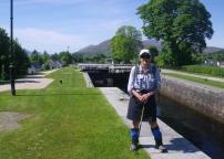 0612 Fort William to Spean Bridge 4 Neptune's staircase down