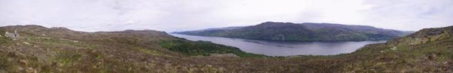 0615 Ft Augustus to Invermorison 4 Panorama Loch Ness