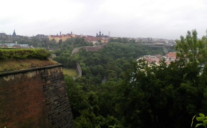 Rainy Day in Prague