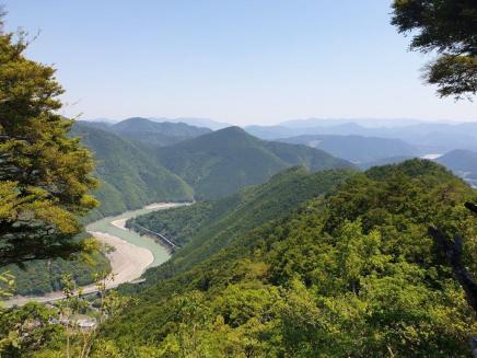 Kumano Kodo day 7-1 view going up