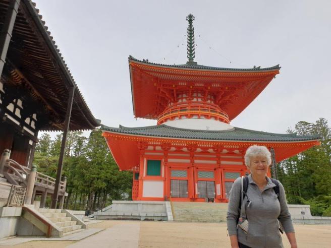 Kumano Kodo day 11 temple