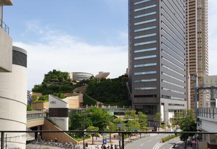 Osaka 9-storey garden park