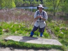 Crianlarich to Bridge of Orchy 5 Robert the Bruce lochen