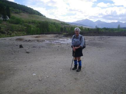 Crianlarich to Bridge of Orchy 6 lead works