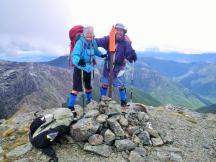 Richmond Range D3 Mt Rintoul summit F&J