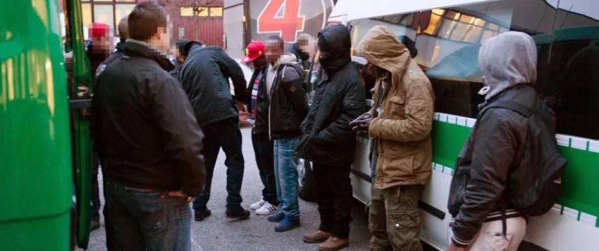 Polizeirazzia im Görlitzer Park: Kaum Konsequenzen für die Drogendealer Foto: picture alliance/dpa