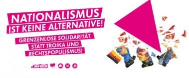 Aufruf von Linksextremisten, den Wahlkampf der AfD zu stören Foto: JF
