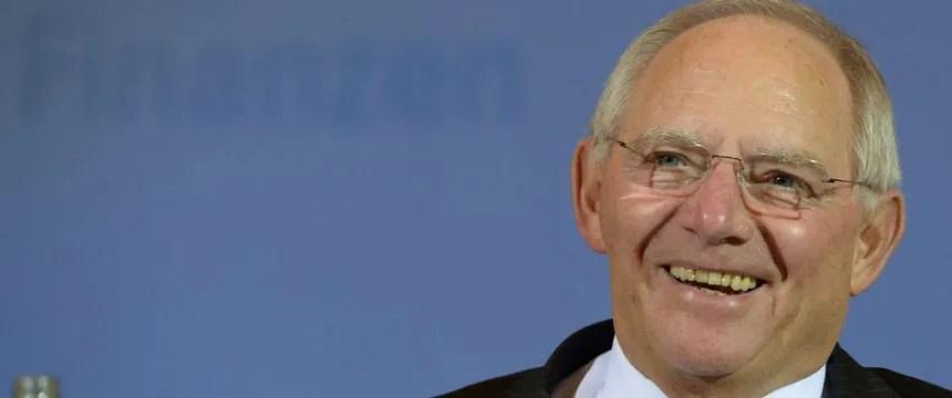 Wolfgang Schäuble: Der Soli soll abgeschafft werden. Irgendwann mal. Foto: dpa