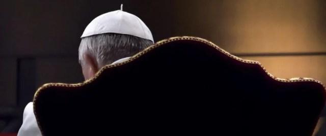 Papst Franziskus am Karfreitag