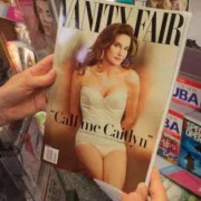 Cover der Vanity Fair: Aus Bruce wird Caitlyn Foto:  picture alliance/Photoshot