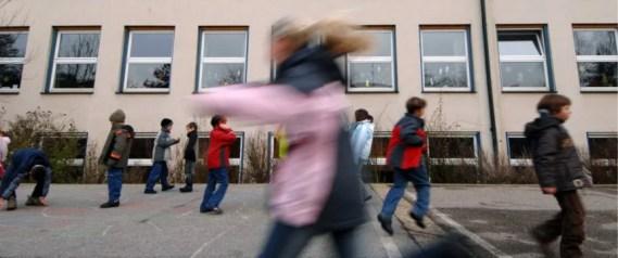 Pausenhof: Deutschpflicht soll abgeschafft werden Foto: dpa - Report